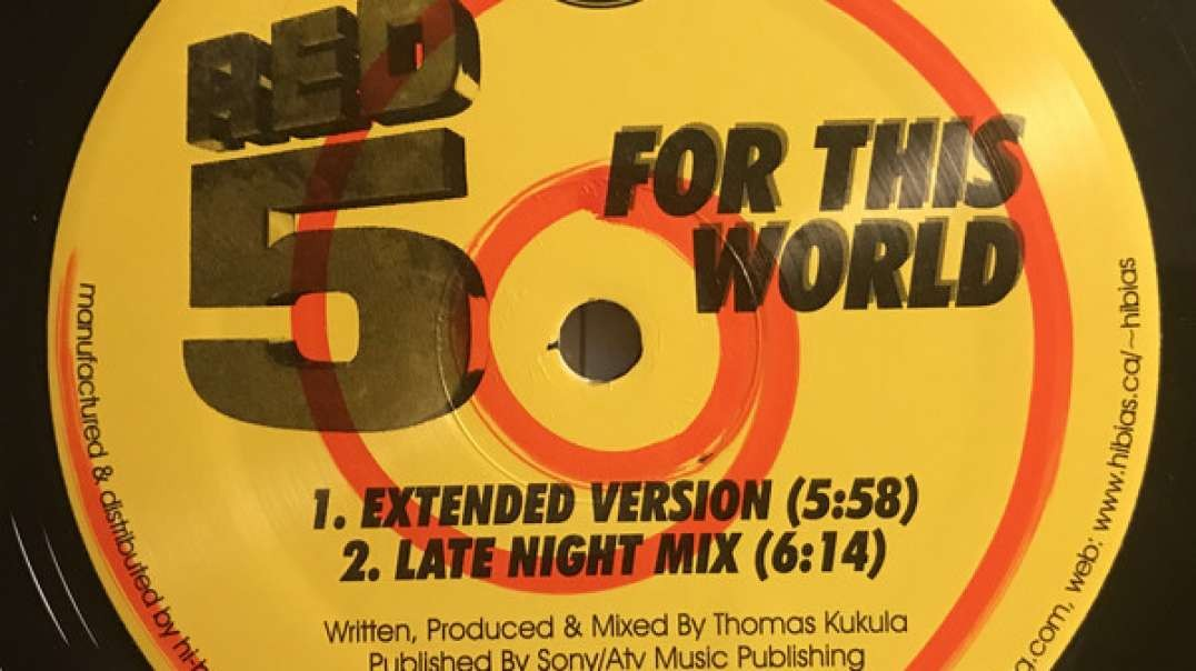 Red 5 - For This World (Extended)