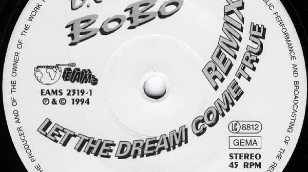 DJ Bobo - Let the Dream Come True (Day After Gold Mix)