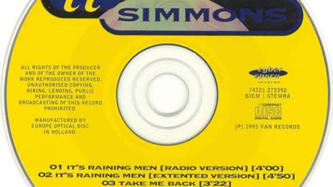 II Simmons - It's Raining Man (Radio Version)