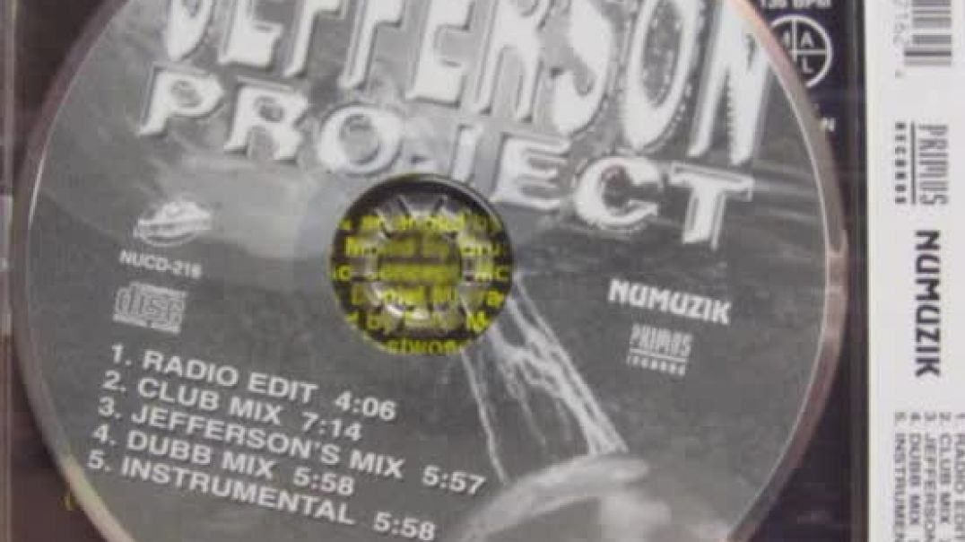 Jefferson Project - All I Need Is The Night (Club Mix)