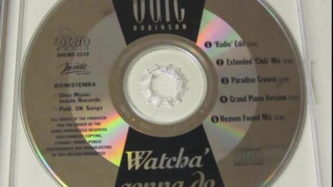 Gale Robinson - Watcha Gonna Do (Radio Edit)