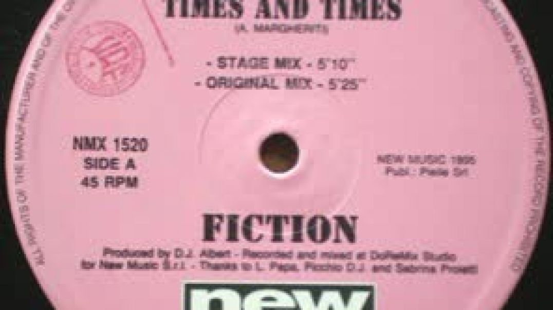 Fiction - Times And Times (Club Mix)