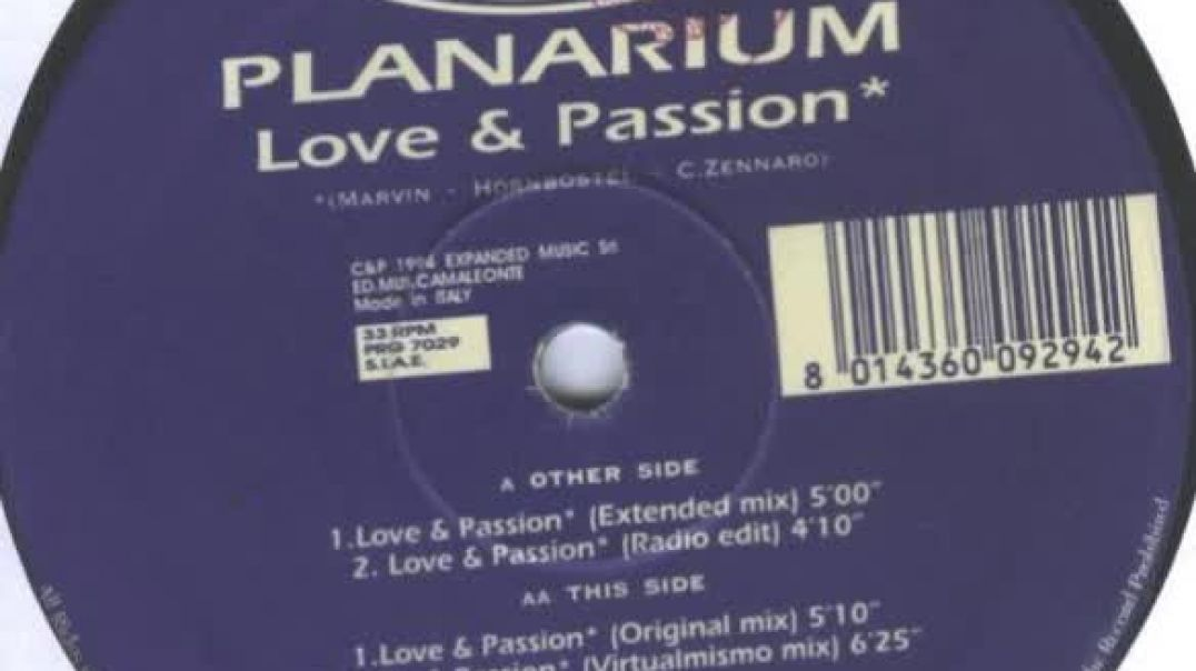 Planarium - Love & Passion (Extended)