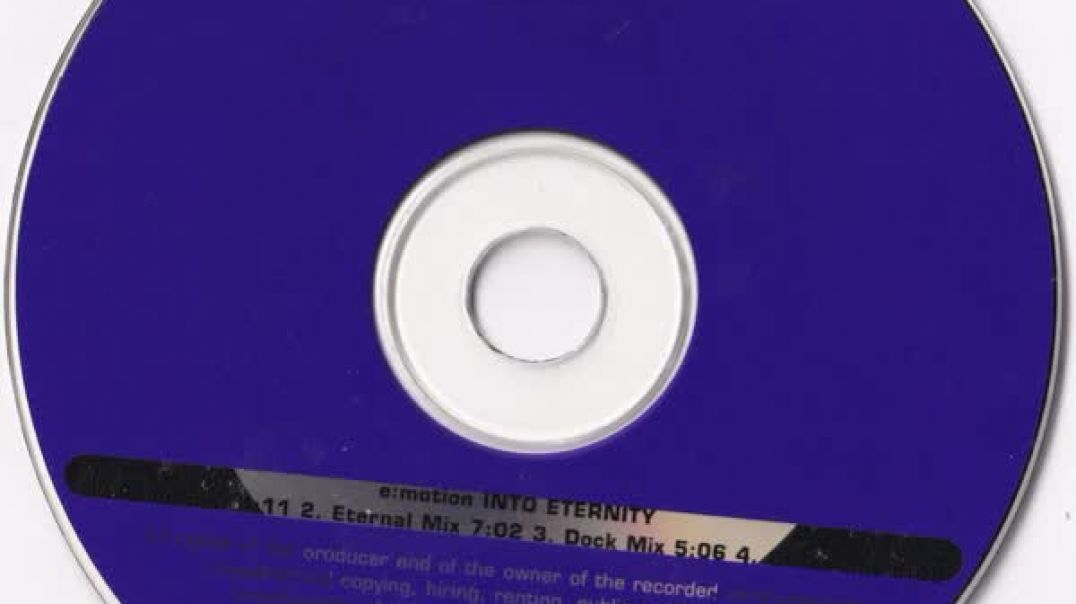 E-Motion - Into Eternity (Radio Edit)