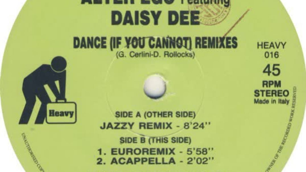 Alter Ego ft Daisy Dee - Dance (Euroremix)