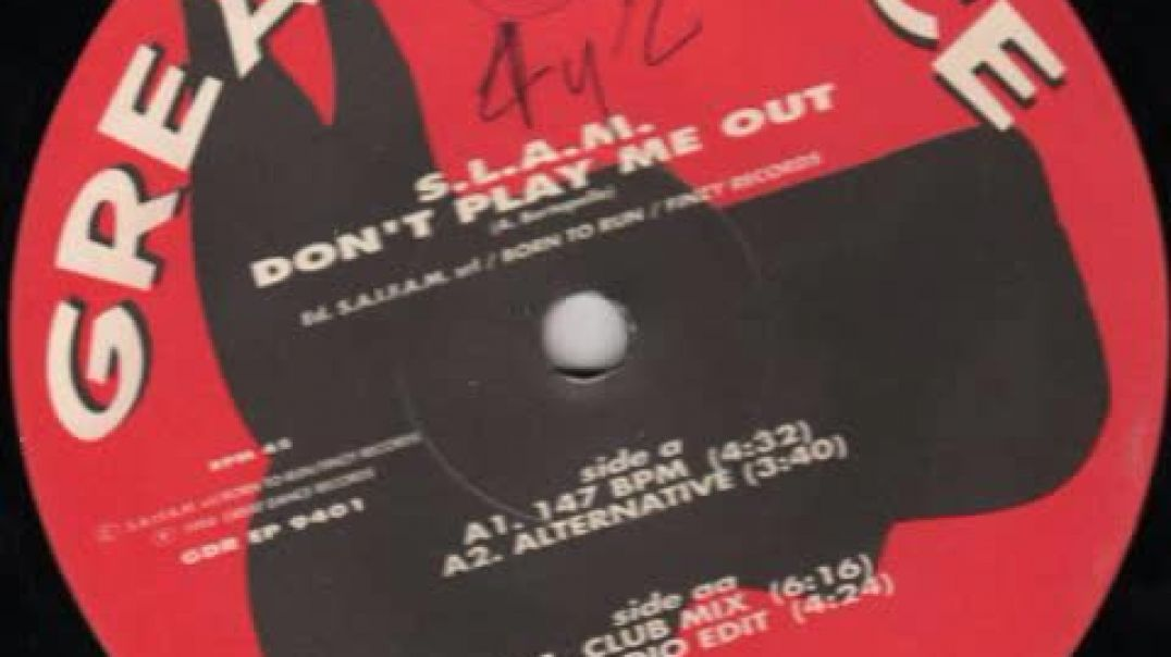 S.L.A.M. - Don't Play Me Out (Club Mix)