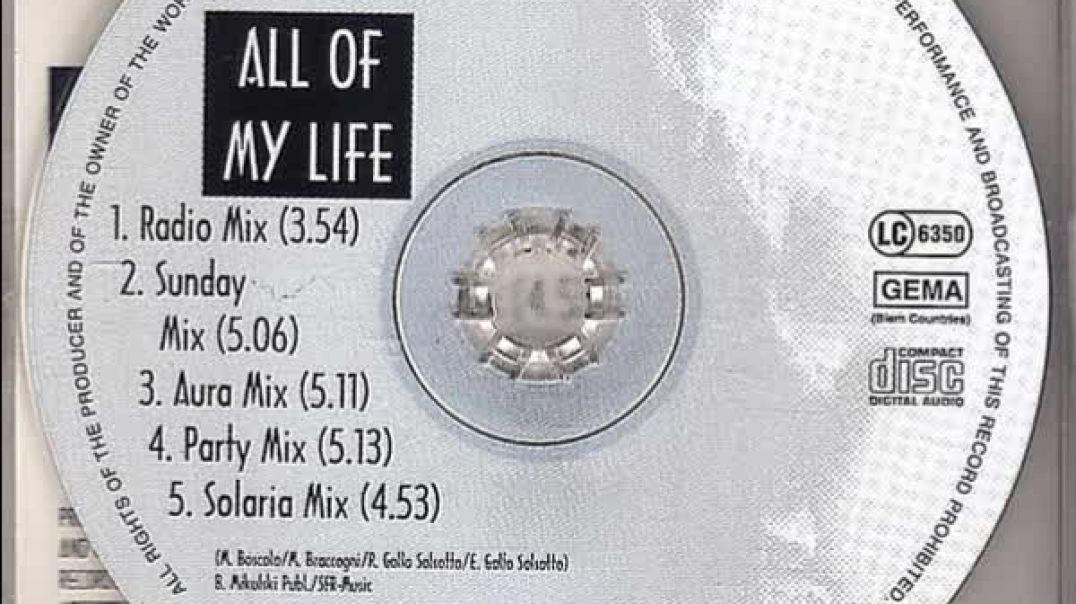 Dynamic Base - All Of My Life (Solaria Mix)