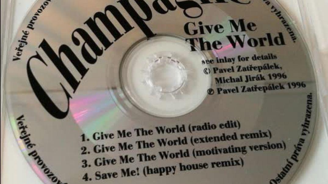 Champagne - Save Me (Album Version)