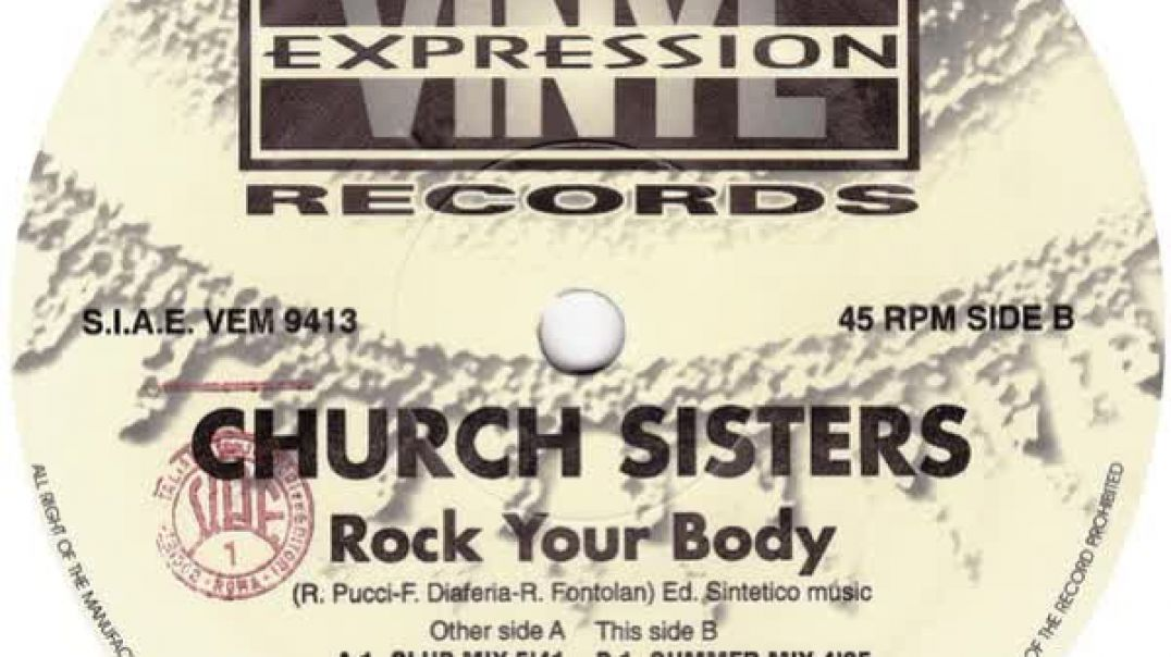 Church Sisters - Rock Your Body (Club Mix)
