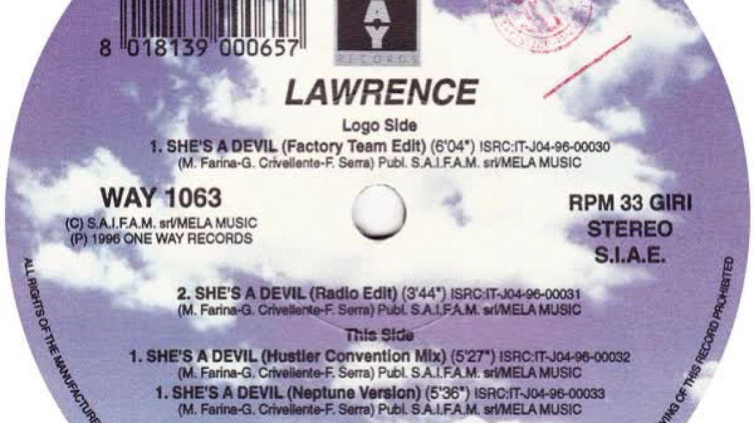 Lawrence - She's A Devil (Radio Edit)