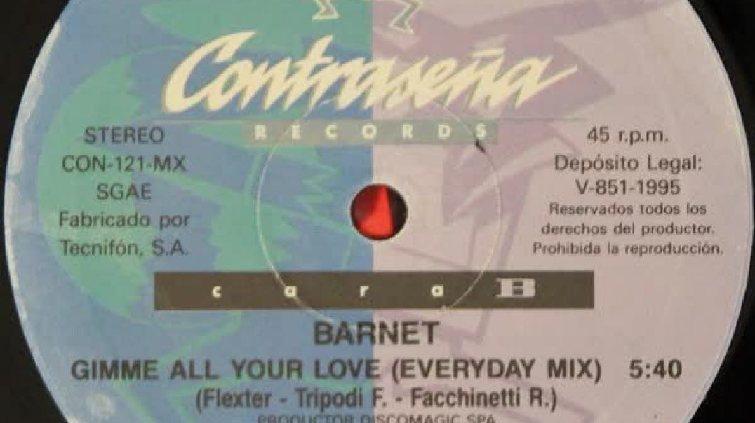 Barnet - Gimme All Your Love (Everyday Mix)