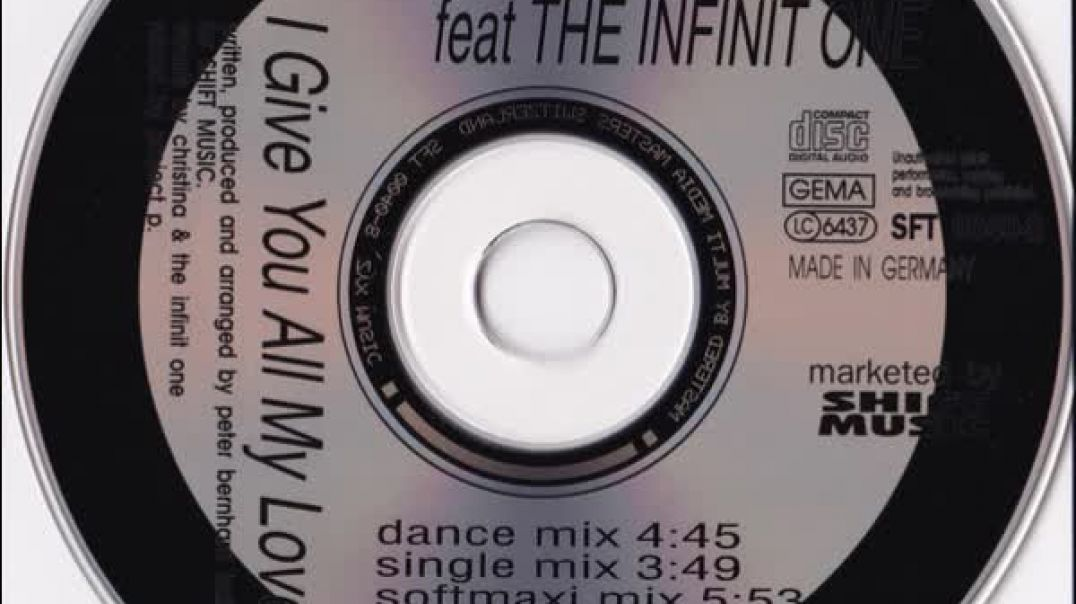Project P. ft The Infinit One - I Give You All My Love ... (Club Mix)