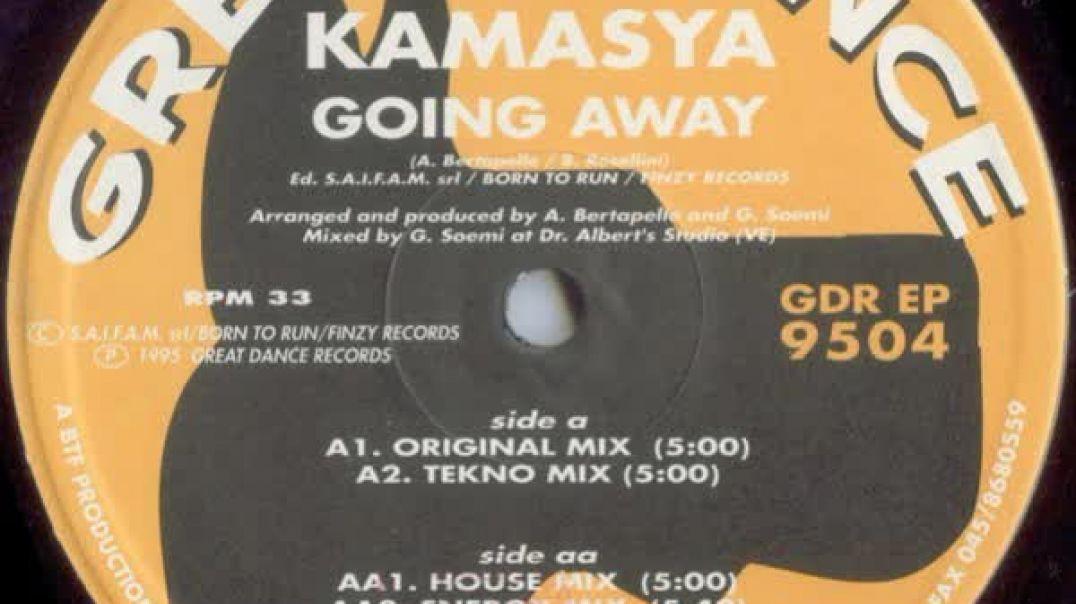 Kamasya - Going Away (Original Mix)