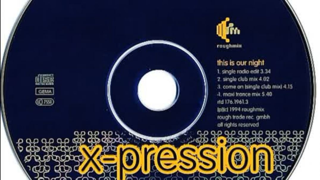 X-Pression - Come On (Single Club Mix)